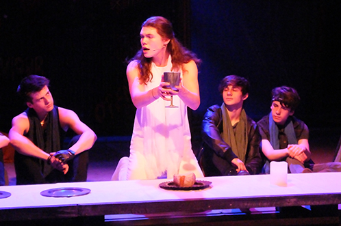 Past production: Jesus Christ Superstar