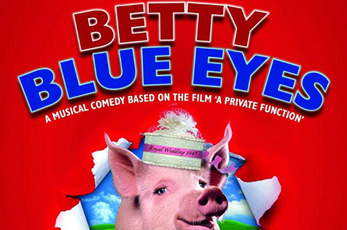 Next production: Betty Blue Eyes