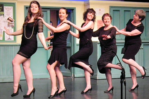Past production: Calendar Girls
