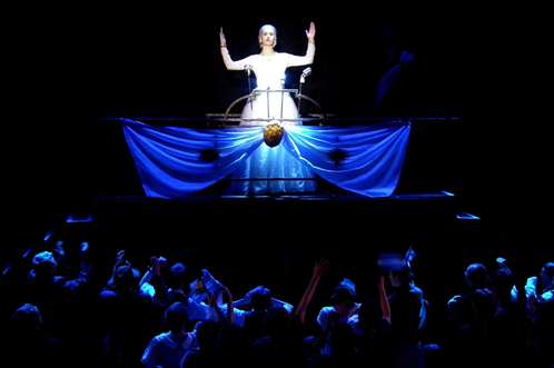 Past production: Evita