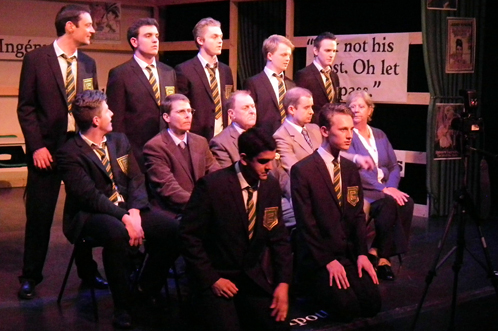 Past production: History Boys