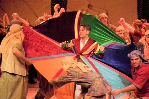 Past production: Joseph and the Amazing Technicolor Dreamcoat