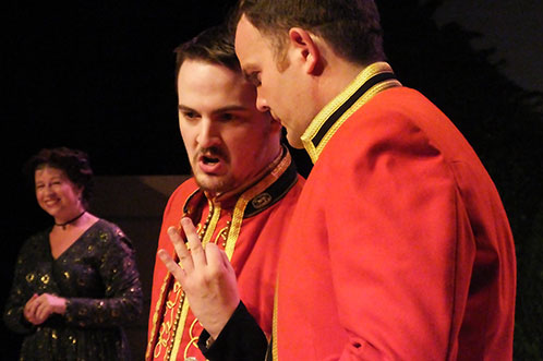 Past production: Much Ado About Nothing
