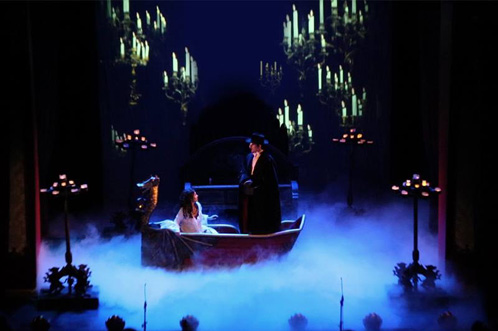 Past production: The Phantom of the Opera