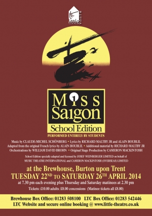 Miss Saigon (School Edition) by Alain Boublil and Claude-Michel Schonberg