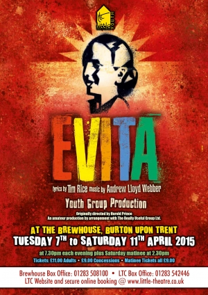 Evita by Tim Rice and Andrew Lloyd Webber