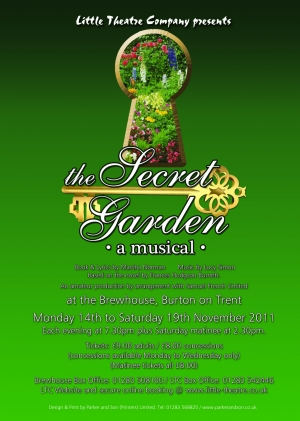 The Secret Garden by Marsha Norman and Lucy Simon - Based on the novel by Frances Hodgson Burnett