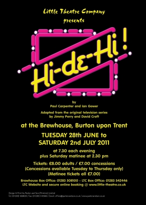 Hi-de-Hi! by Paul Carpenter and Ian Gower - Adapted from the original television series by Jimmy Perry and David Croft