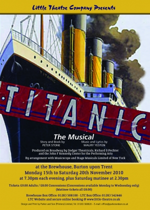 Titanic The Musical by Peter Stone and Maury Yeston