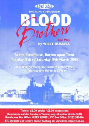 Blood Brothers The Play by Willy Russell