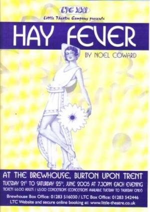 Hay Fever by Noel Coward