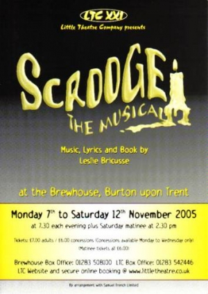 Scrooge The Musical by Leslie Bricusse