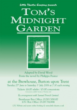 Tom's Midnight Garden by David Wood from the novel by Philippa Pearce
