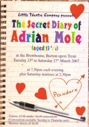 The Secret Diary of Adrian Mole Aged 13 ¾  by Sue Townsend